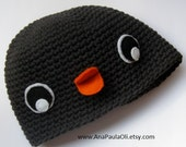 Penguin Hat for Baby 0-3 months