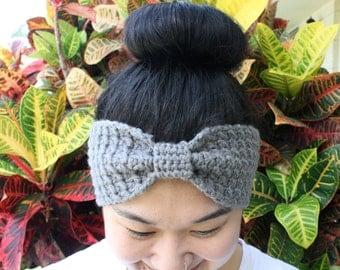 Bow-Tie Head Band / Ear Warmer