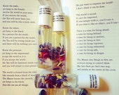 FAITHFUL GRACE -  (Best Seller!) Gem and Botanical Fragrance Oil In a Roll On By BethKaya