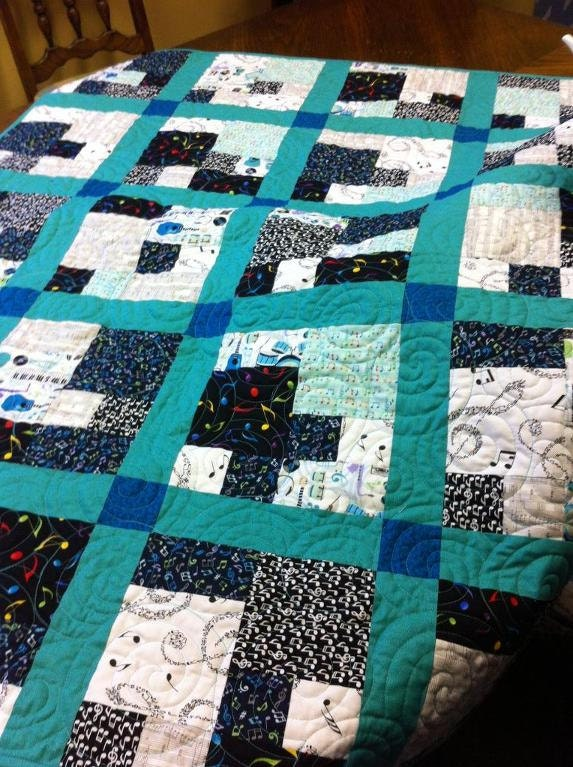 Modern Quilt Patterns Free Download : CityScape Modern Quilt Pattern PDF File Instant Download