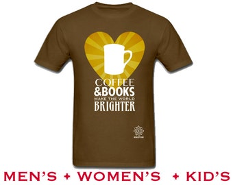 Tea books shirt library reading tshirt i love books for Librarian t shirt sayings