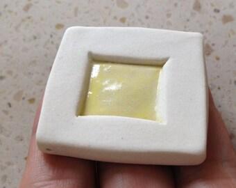 snowy window pendant or Tile