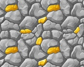 Gold Ore Block Wall Decal - 4 Sizes Available