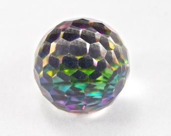 Vintage Swarovski 4861 8mm Vitrail Medium Fireball