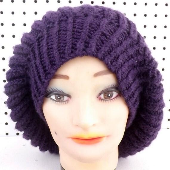 Women s Beanie Knitting Pattern : Knit Pattern for Womens Hat, Knit Pattern Hat, Knitting ...