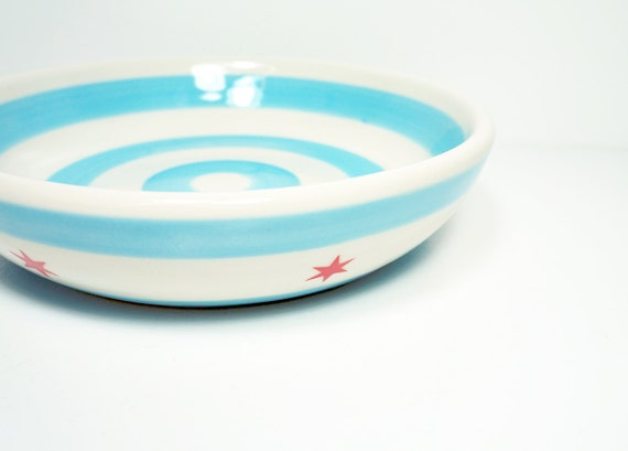lo bowl chicago flag. Made to Order.