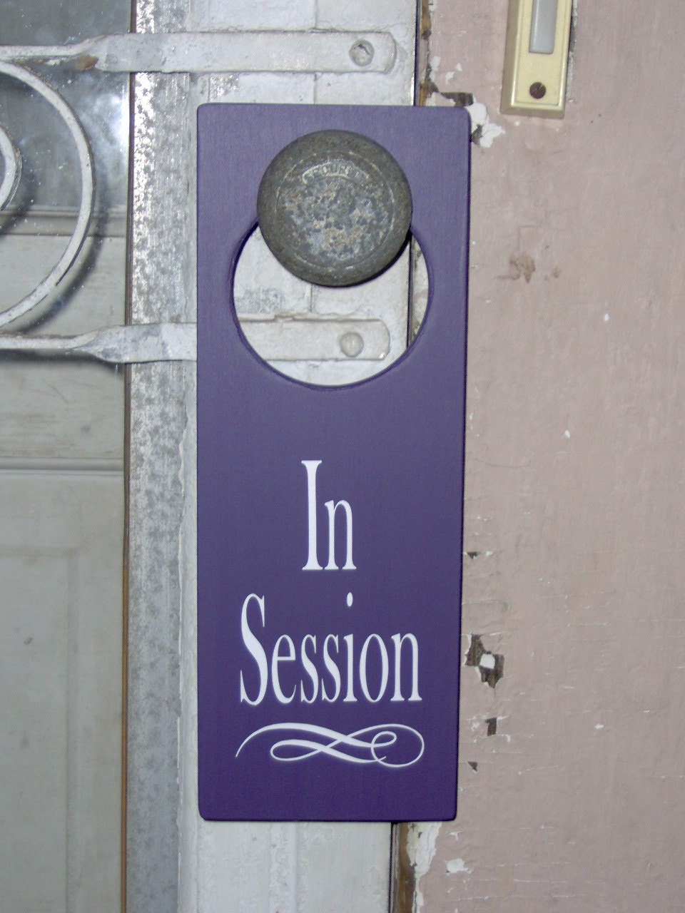 In Session Door Sign