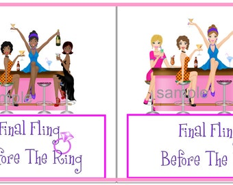 Digital download Bachelorette Candy Bar Wrappers