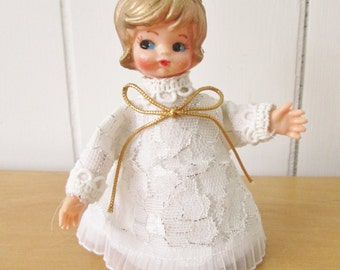vintage pixie angel ornament Japan
