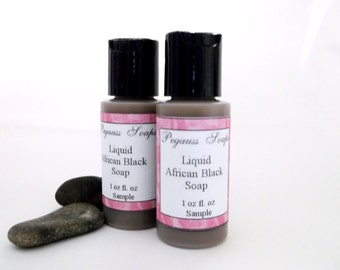 Sampler Size  Liquid Black Soap Sampler 1 oz