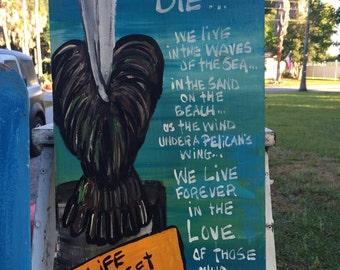 RhondaK original we never die grief pelican
