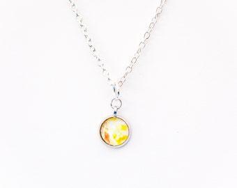ON SALE - Tiny Tile Necklaces