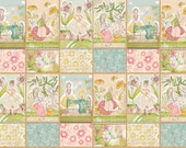 The Makers, Happy Place PANEL SET by Cori Dantini -  Ladies Sewing Knitting Pastels