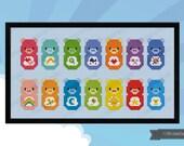 Care Bears parody - PDF cross stich pattern