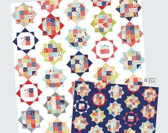 SALE - Rise and Shine quilt pattern from Thimble Blossoms - layer cake or jelly roll friendly