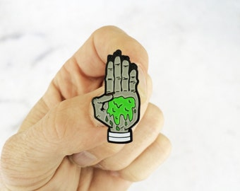 Secret Order of the Slime - Soft Enamel Lapel Pin