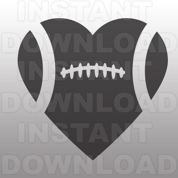 football heart clipart-#6