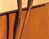 Handcarved Applewood Chopsticks - Pair No. 3