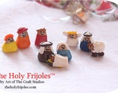 The Holy Frijoles™ The Pinto Bean Nativity Scene™