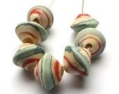 artisan lampwork beads, handmade  -   Go South - by Calisto  MTO
