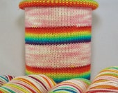Sparkle Pony: Hand-dyed gradient self-striping sock yarn, 80/20 SW merino/nylon