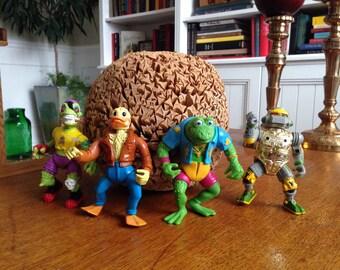 REDUCED Teenage Mutant Ninja Turtles lot of four action figure friends