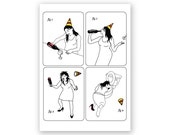 Wine Drinker Birthday Card - Drinking - Alcohol - Party