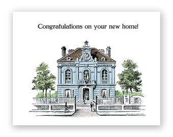 SALE! Congratulations On Your New Home Card