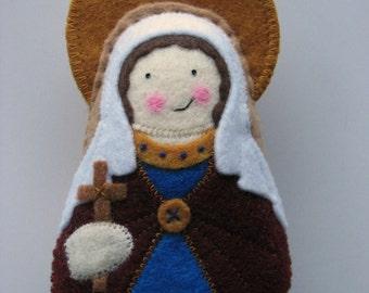 Saint Felicity Felt Saint Softie