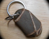 Beach Stone Key Chain - Beach Rock - CROSS ROADS