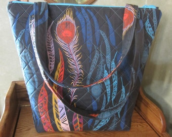 The  Botanical Feather Tote