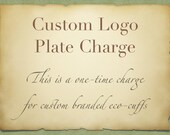 Custom logo stamp charge to go with Custom Logo Promo Cuffs Wrist Cuff Wallet for Runners