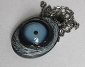 Large Beast Blue Eye Pendant LG-BLU-1