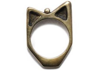 SAMPLE SALE Porterness Studio Foxy Bronze Ring