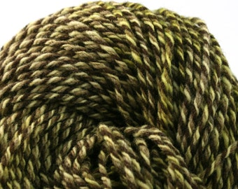 Rockwell Hand Dyed DK weight Wool 280 yds 4oz Rudimentary Inflorescence