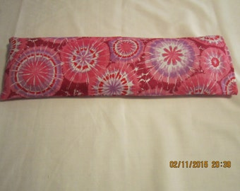 Pink Starburst X-LARGE Cozy Comforts (filled with Flax Seed) Heat and Cold Packs (Unscented or Lavender)*