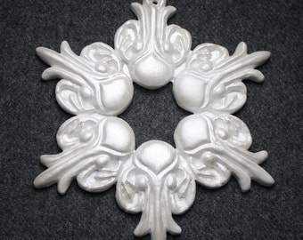 Snowflake Cthulhu Ornament