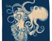 Deep Sea Discovery, Octopus, Shower Curtain