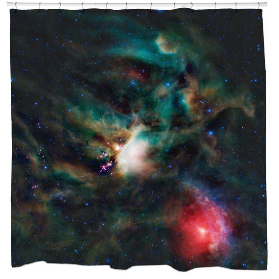 Items Similar To Rho Ophiuchi Outer Space Shower Curtain