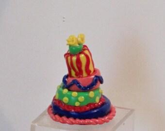 Miniature OOAK  Wacky cake for the holidays