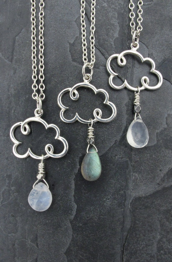 cloud gift cloud necklace cloud jewelry cloud charm