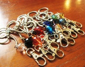 Stitch Marker Holder Leash Chatelaine for Knitters & Crocheters