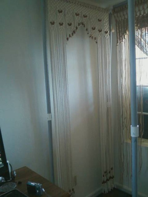 Beaded Arch Curtain Or Door Decor Made In Hand By Craftflaire