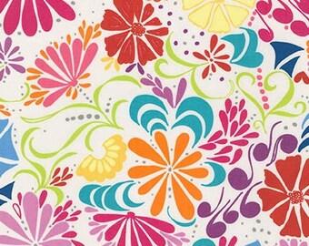 Robert Kaufman's Ashton Road by Valori Wells, Floral in Summer