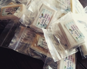 Set of 45 Sample Soaps, choice of three scents