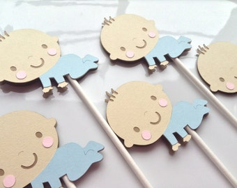 Baby Shower Toppers (Set of 12)