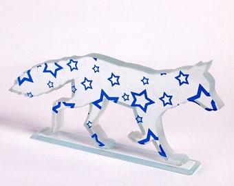 Star Fox Glass Sculpture