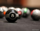 8 ball photo, game room decor, pool photo, eight ball art, Billiards decor, pool photo, billiards photo, sports decor, man cave decor