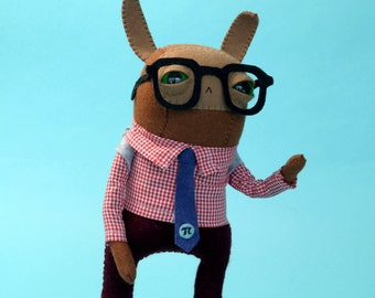 Mathlete Rabbit - made to order