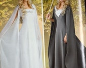 Sewing Pattern Simplicity C1551 Costume Misses' Medieval Queen Dresses  Uncut Complete FF
